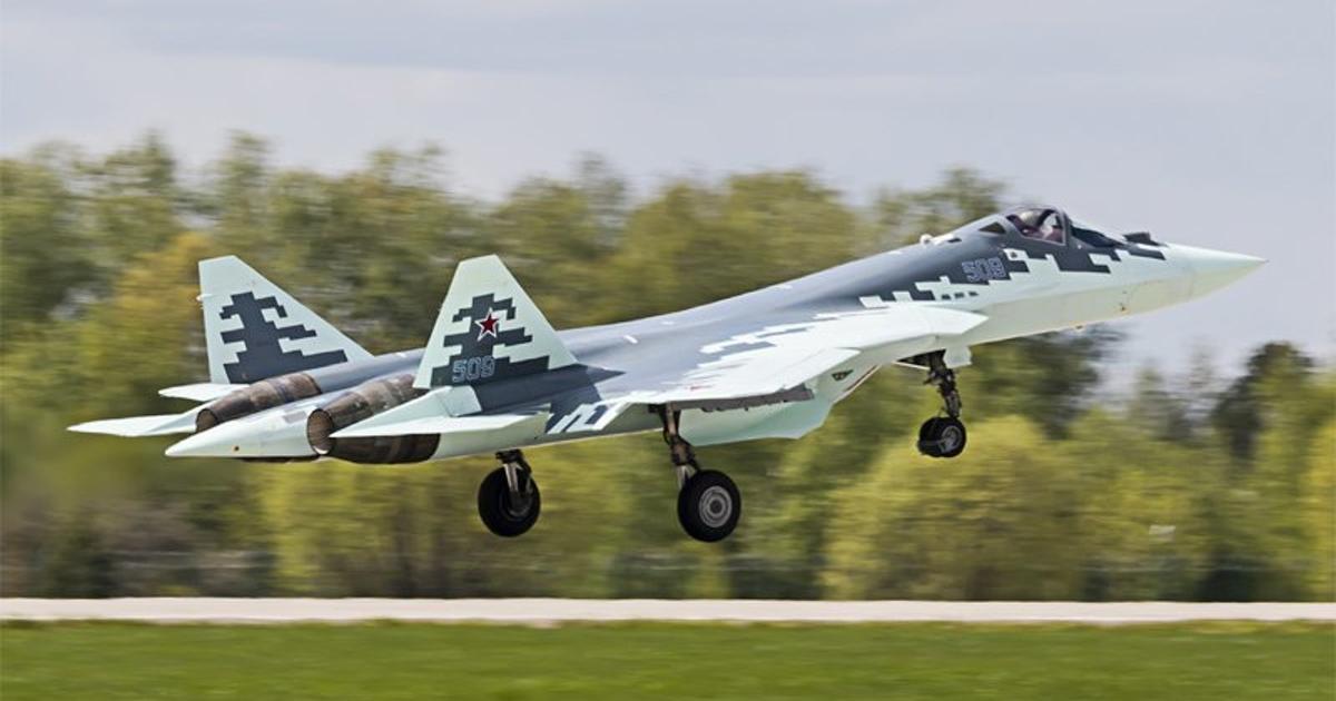 ПАКФА (Т-50-9): первые фото прототипа российского истребителя пятого поколения