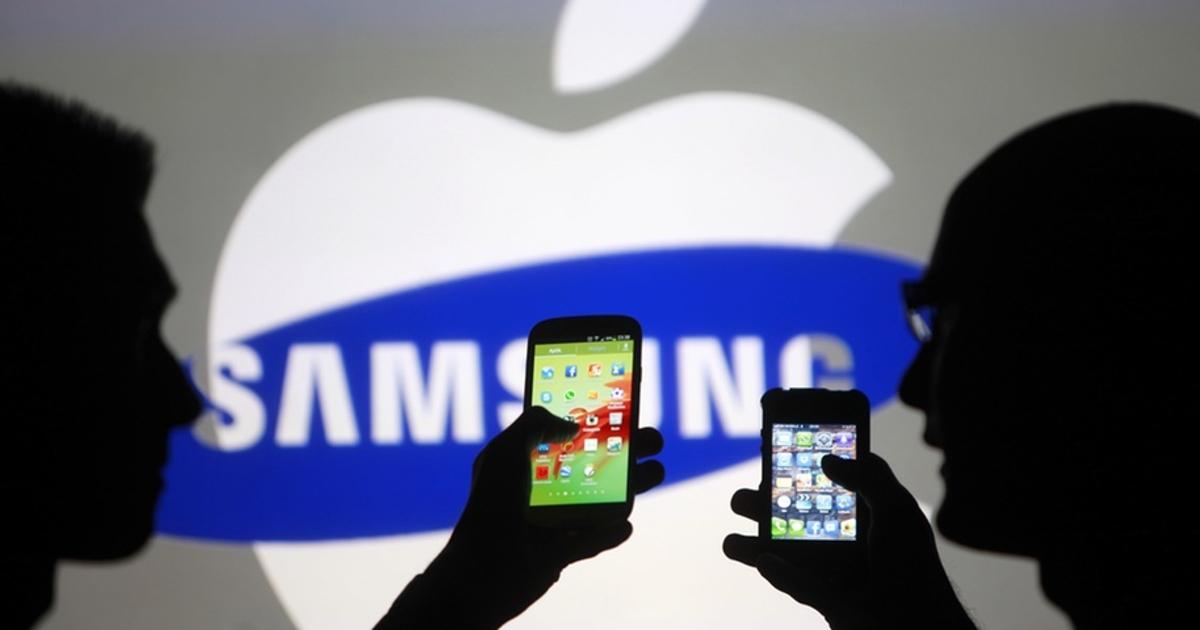 Samsung призналась в копировании iPhone и заплатит Apple полмиллиарда