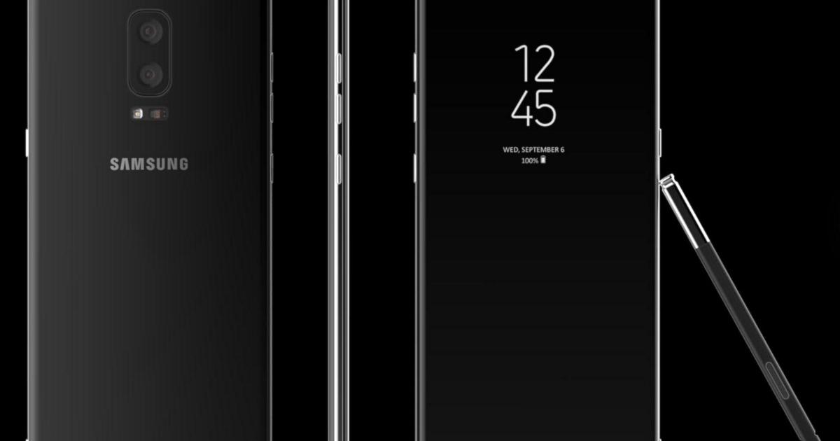 Samsung Galaxy Note 8: названа дата выхода
