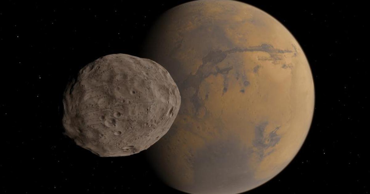 phobos mars moon gif - HD2844×1600