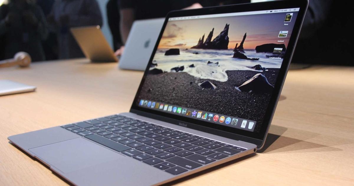 Новые MacBook получат клавиатуры безкнопок