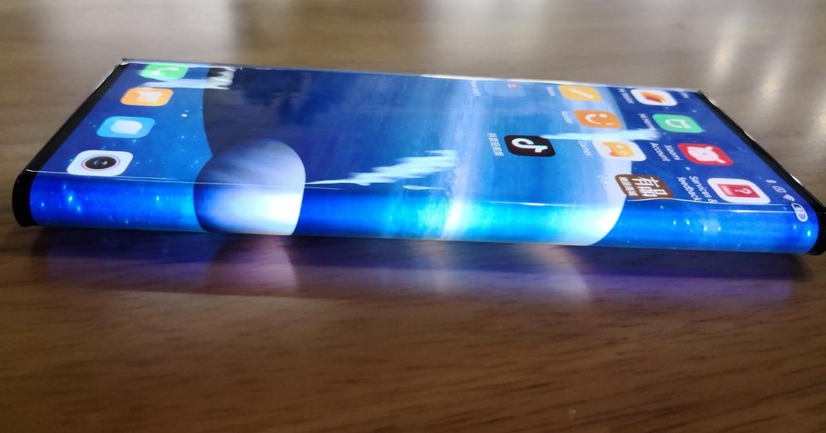 Уникальный Xiaomi Mi Mix Alpha показали нановых «живых» фотографиях