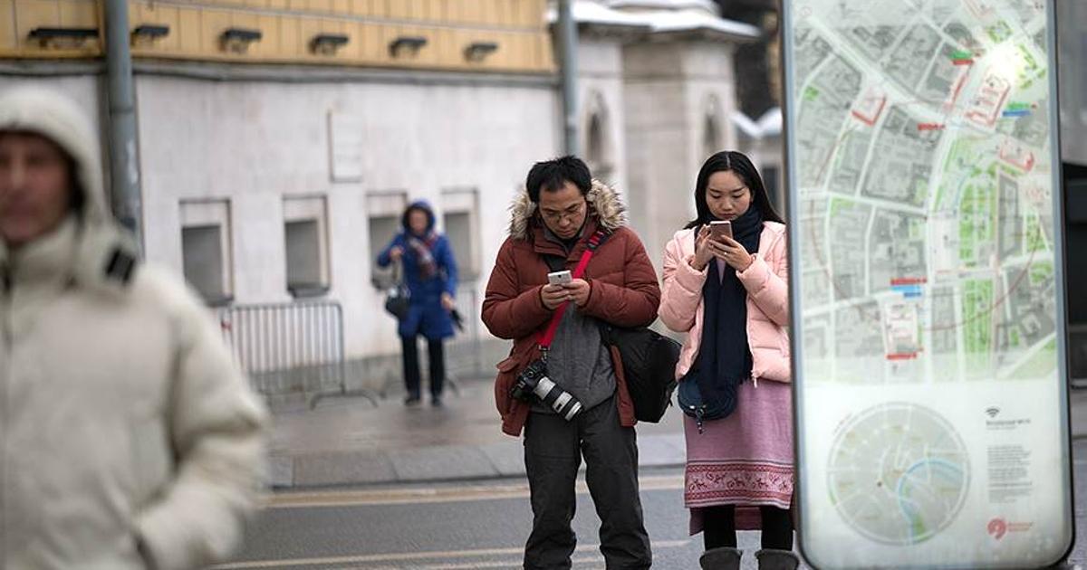 Российские абоненты стали отправлять меньше СМС