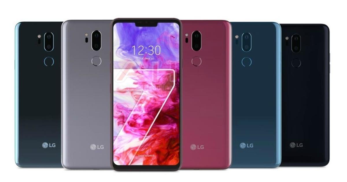 LG G7 ThinQ показали накачественных рендерах совсех сторон. Известна дата анонса