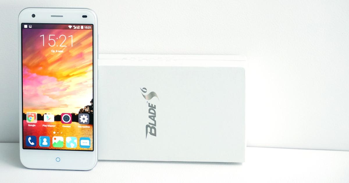 Обзор ZTE Blade S6: похожий на iPhone смартфон в 3 раза дешевле