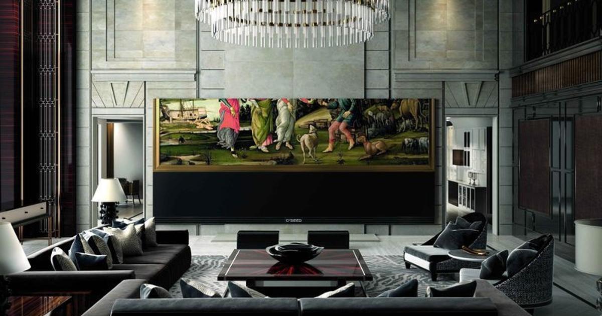С Seed 262 самый большой и самый дорогой 4K-телевизор в мире