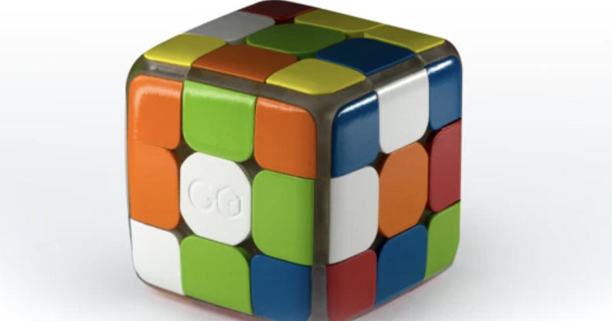 Представлен «умный» кубик Рубика c Bluetooth-подключением ксмартфону