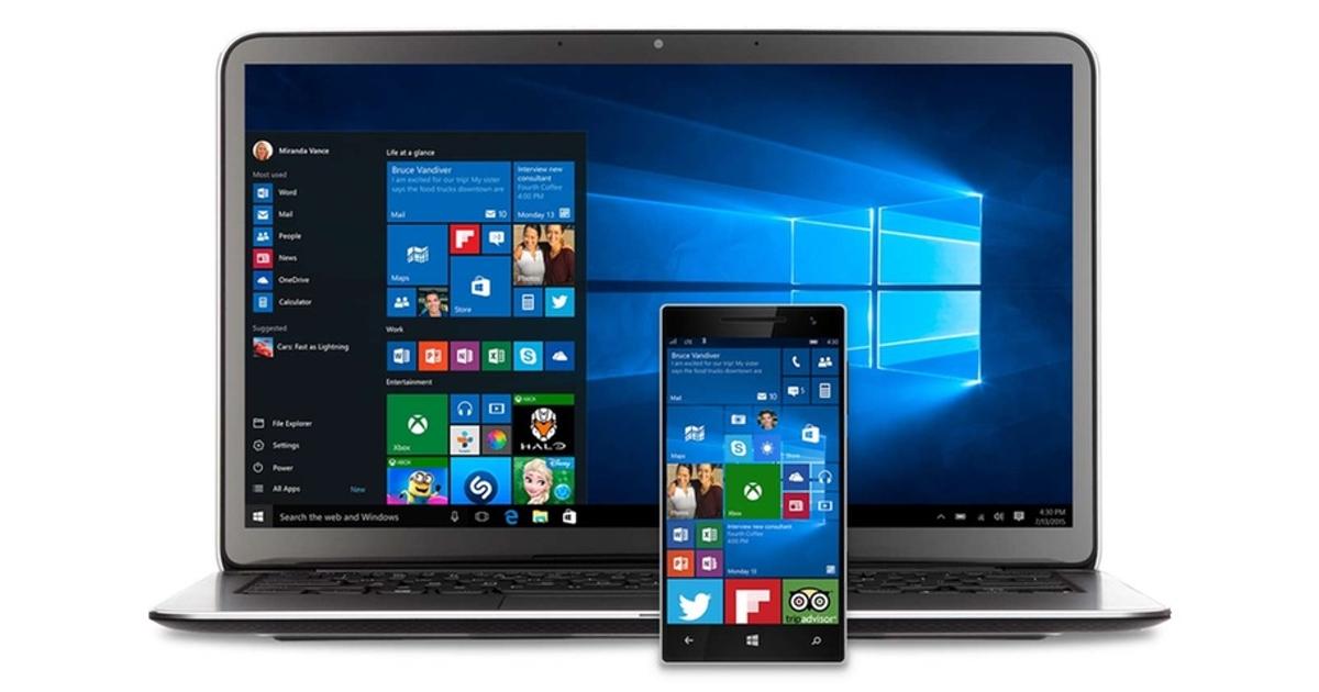 Производители ПК рекомендуют избегать Windows 10