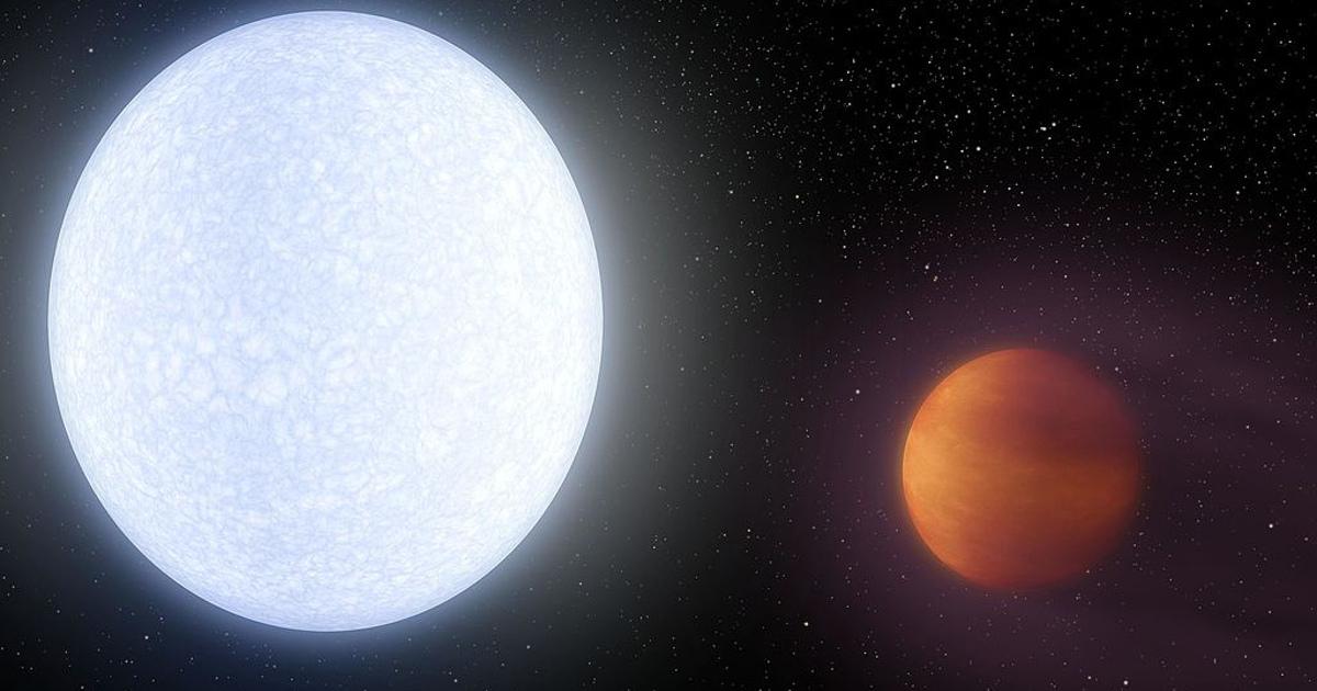 Найдена планета-рекордсмен сметаллическими дождями