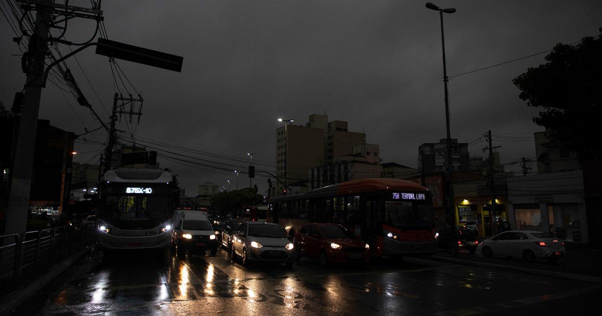 Бразильский город превратился в Мордор