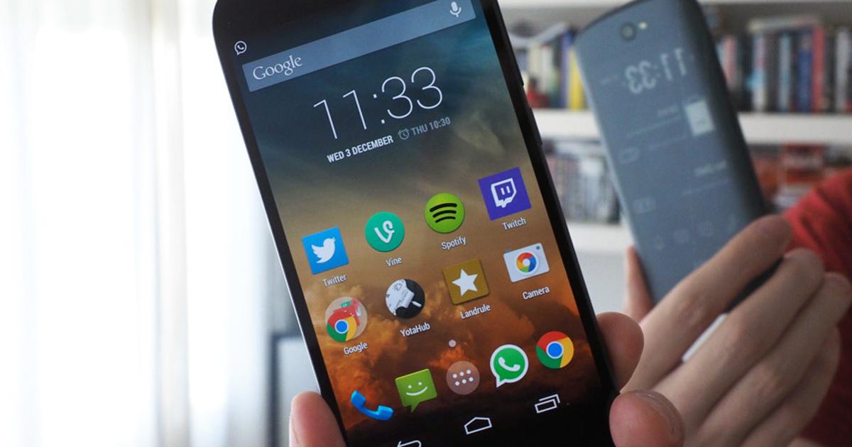 Yota 3: «российский» смартфон запустят безРоссии