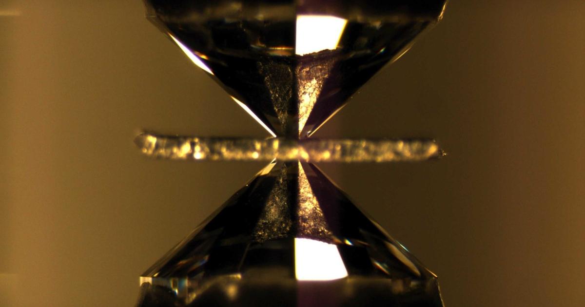 Ученые впервые получили металлический водород