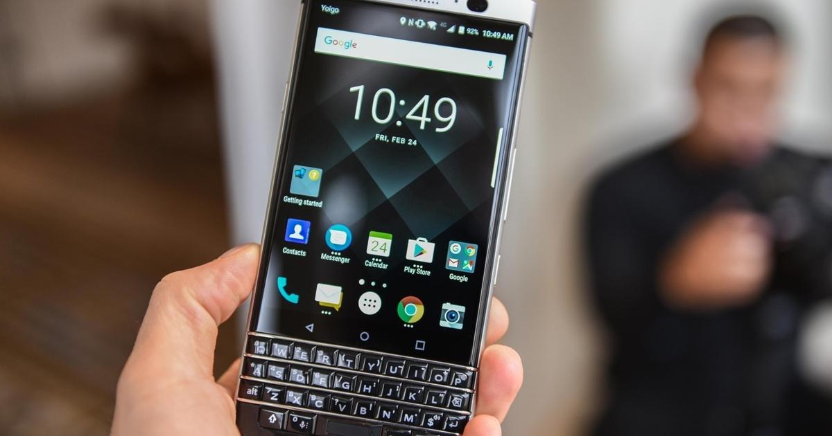 BlackBerry KEYone: стала известна российская цена нового клавиатурного смартфона