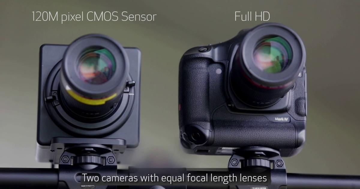 Canon показала свой 120-мегапиксельный сенсор