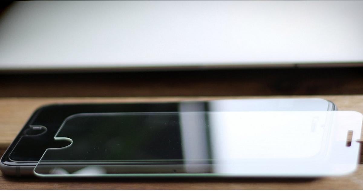 Защитное стекло для iPhone с кнопкой «назад» поступило в продажу