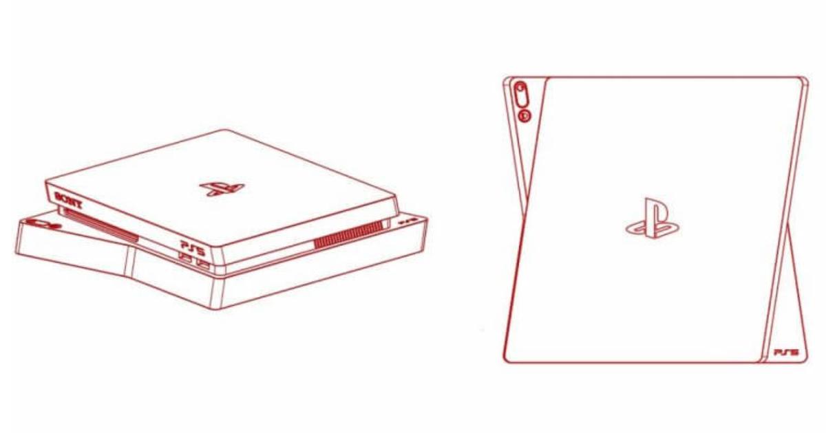 Новый вариант дизайна Sony PlayStation 5 утек всеть