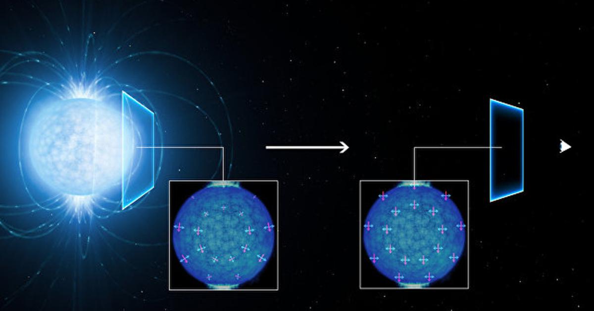 Ученые доказали, чтовакуум непуст
