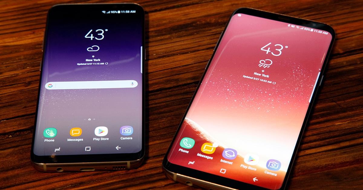 Samsung Galaxy S8 иS8+: продажи вРоссии начались