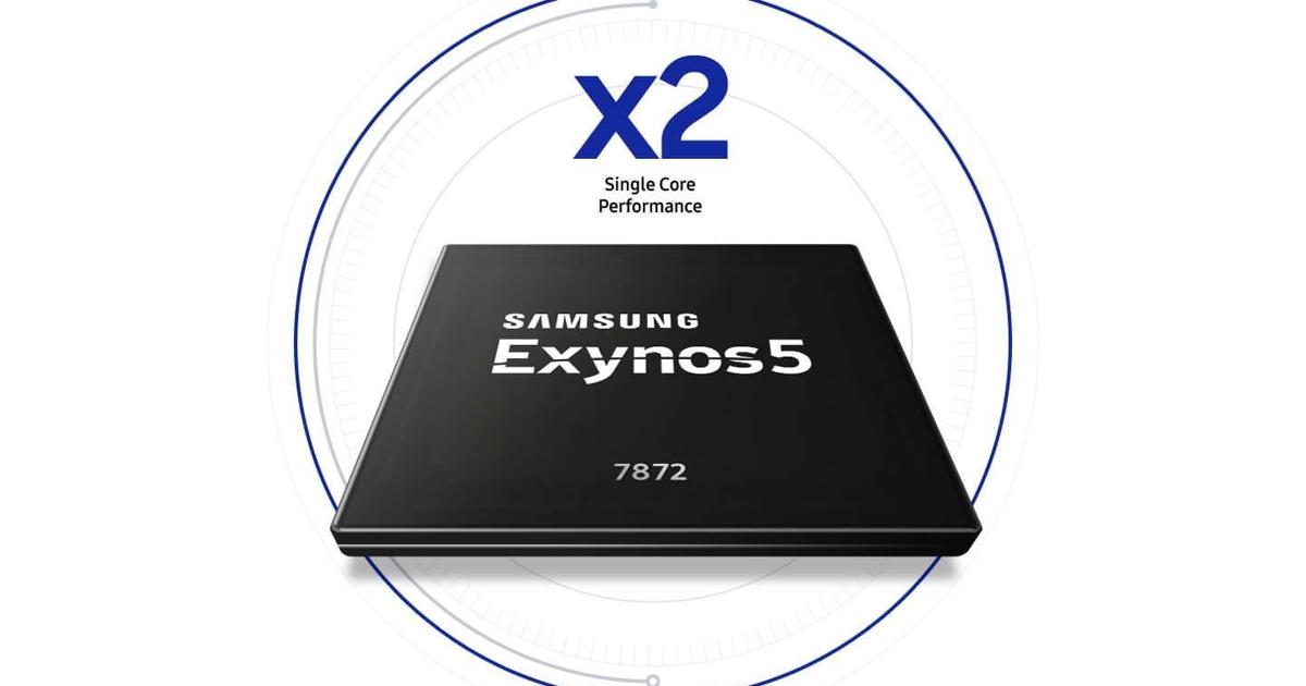Samsung официально представила чип Exynos 7872 длябюджетников