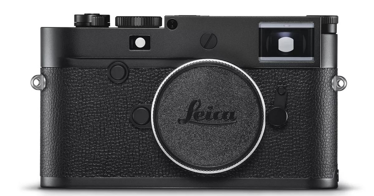 Leica представила черно-белую камеру поцене автомобиля
