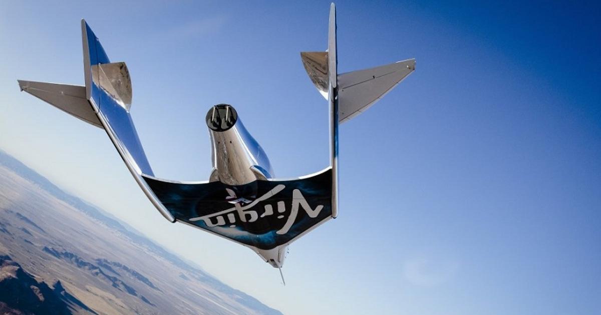 Туристический космический корабль VSS Unity успешно прошел испытание