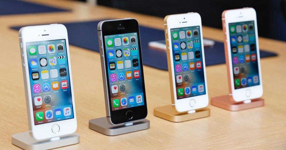 iPhoneSE вновь стал самым продаваемым смартфоном вРоссии