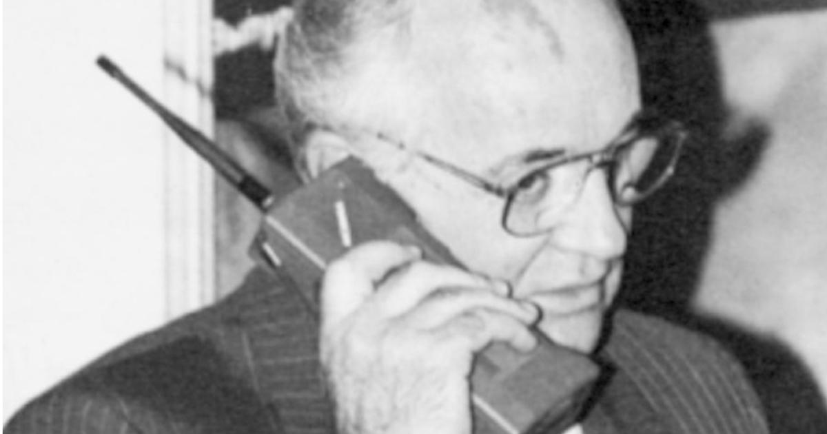 Фото: каким был первый мобильный телефон Nokia