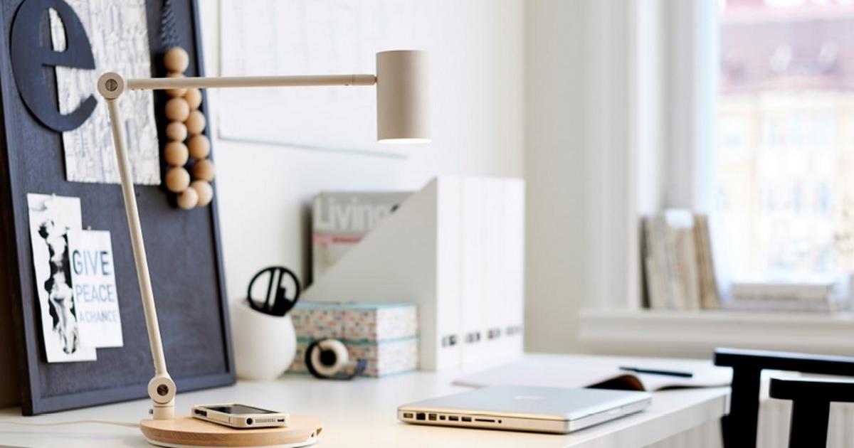 IKEA начинает продажи мебели с беспроводной зарядкой