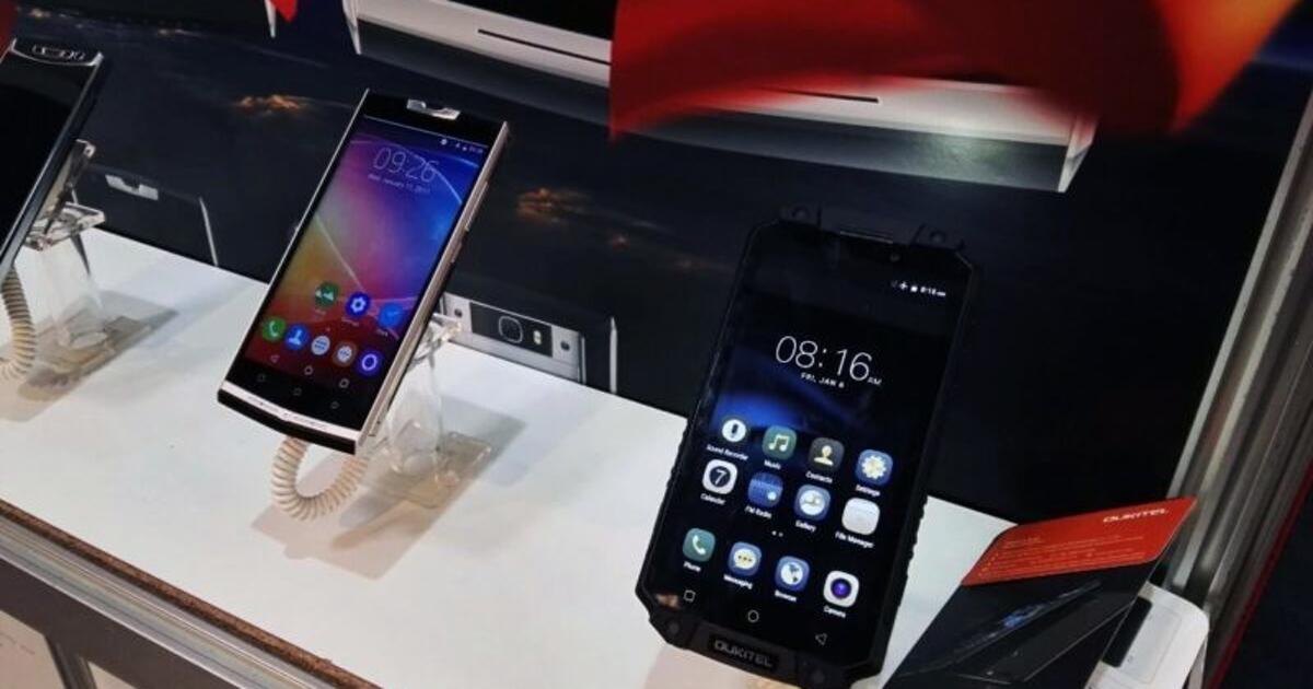 Oukitel K10000 Pro: наMWC 2017 представлен смартфон ссамым большим аккумулятором