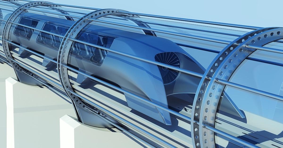 Капсула Hyperloop разогналась до386 километров вчас