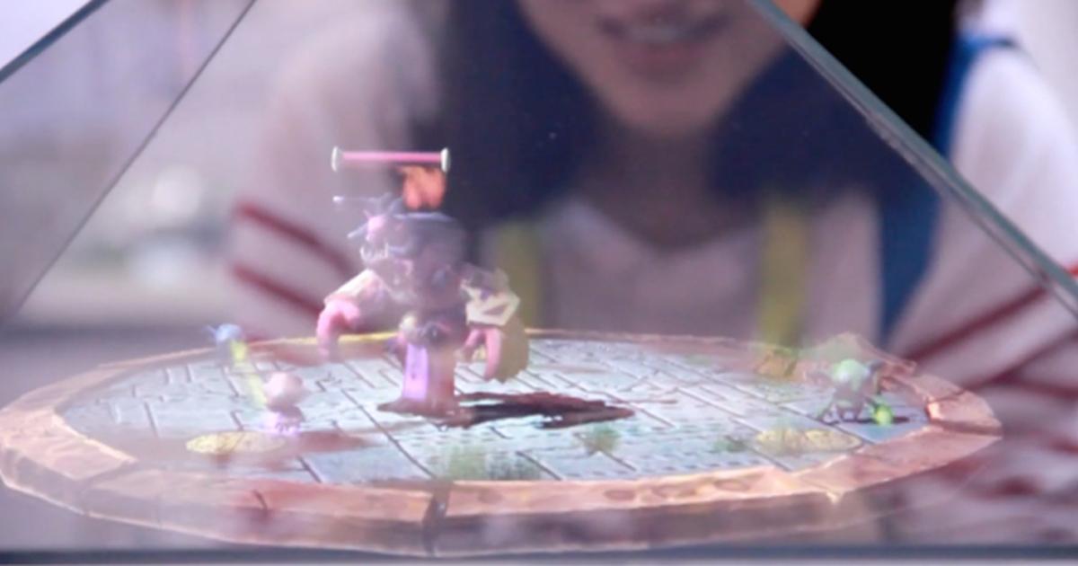 Holus превратит фото со смартфона в 3D-голограммы