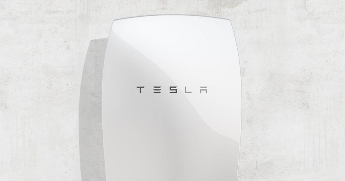 Tesla представила аккумулятор для дома
