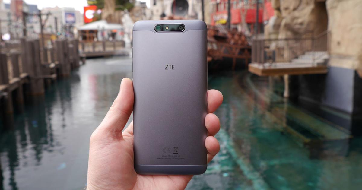 Официально: представлен ZTE Blade V8 сдвойной камерой. Первый взгляд