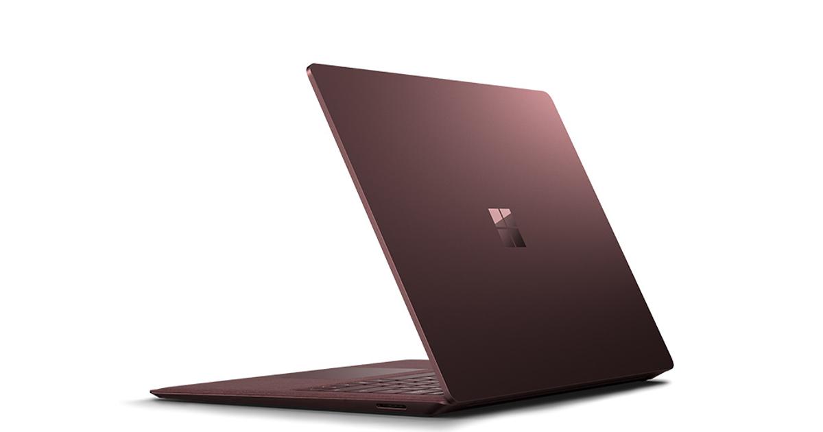 Microsoft Sufrace Laptop: представлен первый ноутбук нановой Windows 10 S