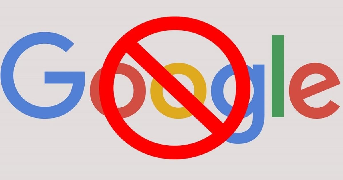 Google был недоступен дляроссиян