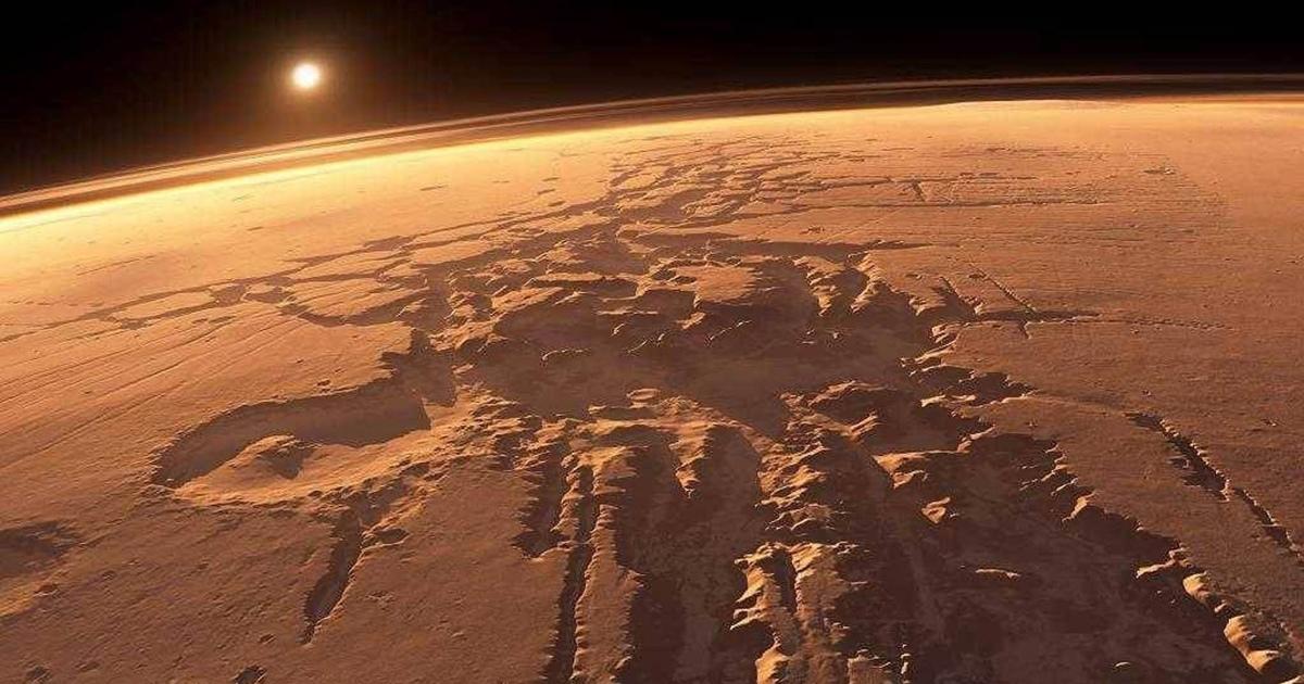Ученый повторно «открыл» Марс. Его наградили вТвиттере