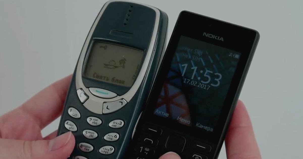 Видео: Nokia 3310 против новой Nokia 150