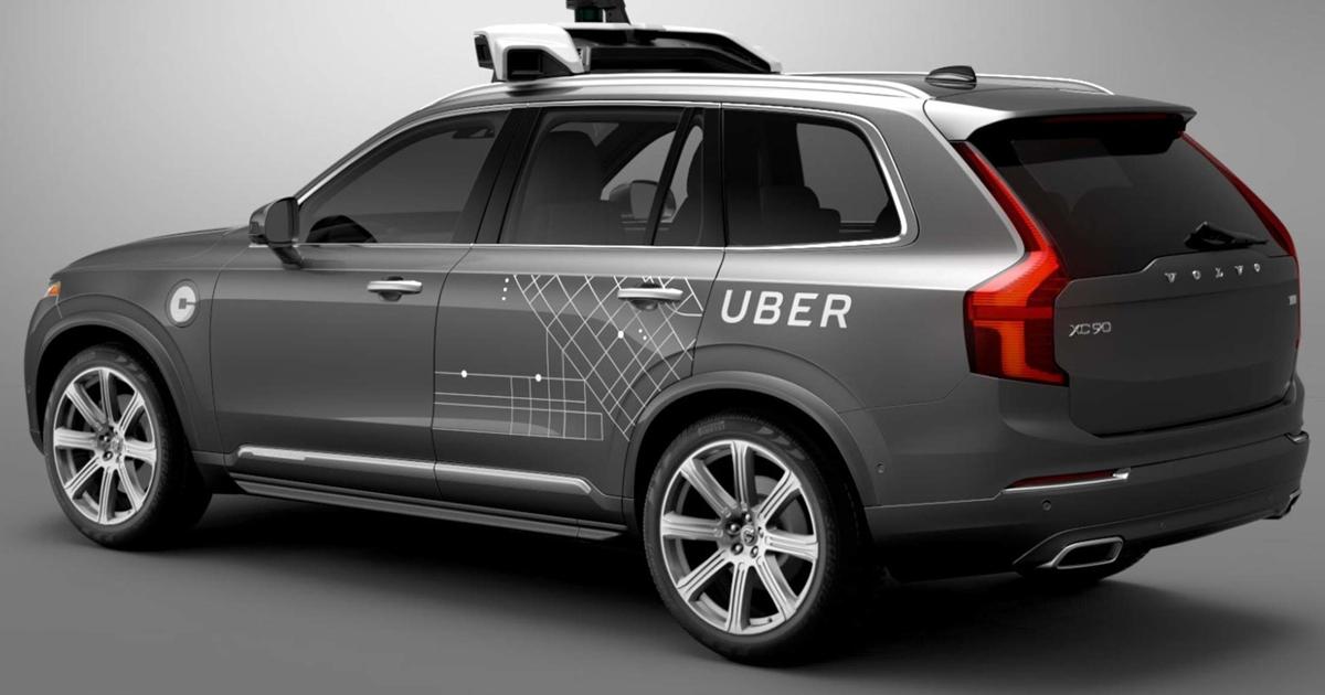 Volvo станет первым поставщиком дляроботакси Uber