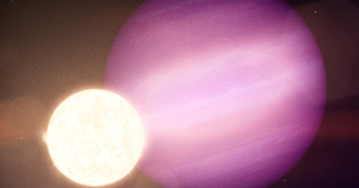 Найдена невозможная планета-выживальщик