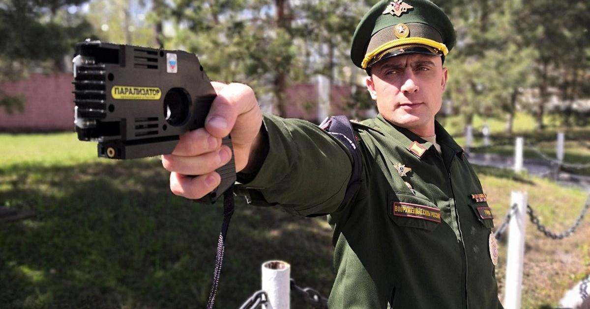 Российские военные полицейские получили «Парализатор». Чтоэто?
