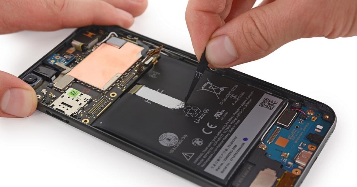 Эксперты оценили ремонтопригодность PixelXL