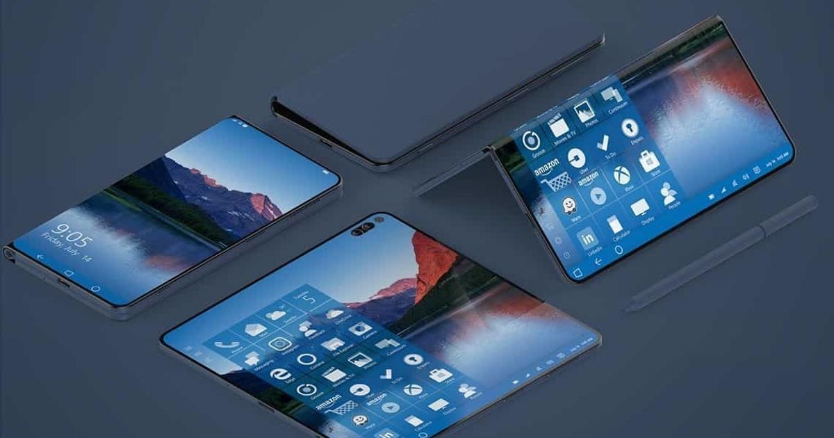 Microsoft готовит устройство сдвумя экранами: чтождать откомпании в2019 году?
