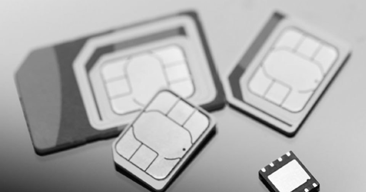 Таких «симок» еще небыло. Появился новый стандарт SIM-карт