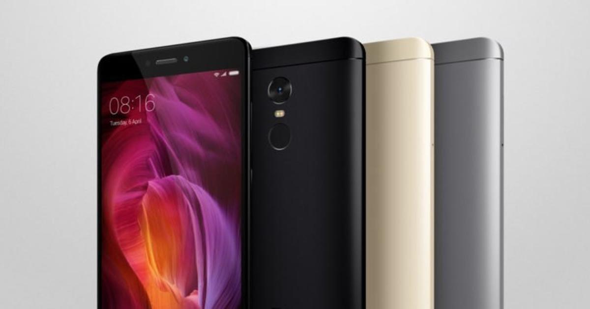 Xiaomi Redmi Note 4 представлен официально