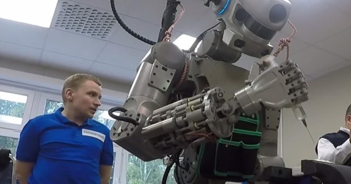 Робот Федор небудет похож начеловека