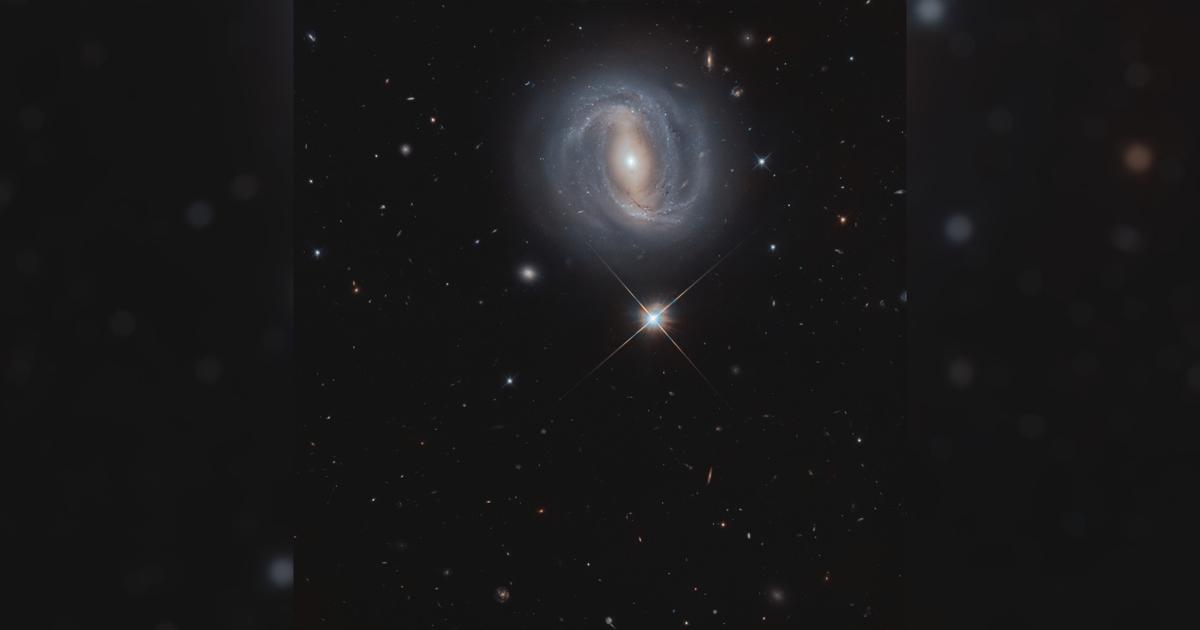 «Хаббл» заснял удивительную космическую перспективу