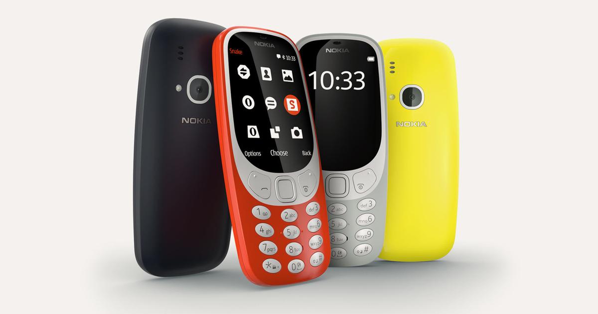 Nokia 3310: стала известна дата начала продаж вРоссии